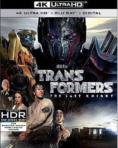 Blu-Ray 4K - Transformers: O Último Cavaleiro