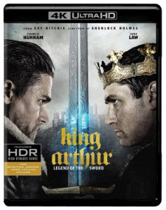 Blu-Ray 4K - Rei Arthur: A Lenda da Espada