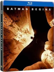 Blu-ray - Batman Begins - Steelbook