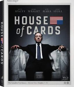 Blu-ray - House of Cards - 1 Temporada