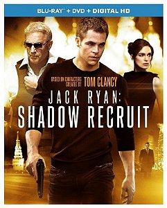 Blu-ray - Operacao Sombra: Jack Ryan (Blu-ray + DVD + Digital HD)
