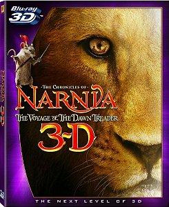Blu-ray - As Cronicas de Narnia: A Viagem do Peregrino (3D)