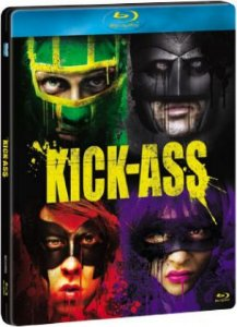 Blu-ray - Kick-Ass - Quebrando Tudo (STEELBOOK + Cards)