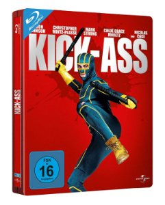 Blu-ray - Kick-Ass - Quebrando Tudo (STEELBOOK)