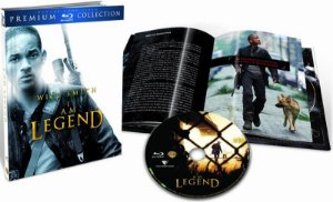 Blu-ray - Eu Sou A Lenda (Premium Collection)