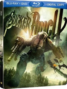Blu-ray - Sucker Punch - Mundo Surreal (STEELBOOK)