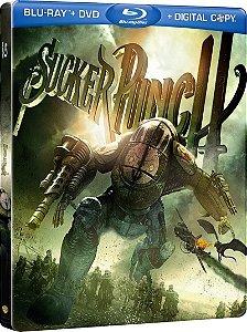 Blu-ray - Sucker Punch - Mundo Surreal (STEELBOOK)