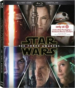 Blu-ray - Star Wars - O Despertar da Forca - Target Edition (Collectible Packaging + Exclusive Bonus Content)