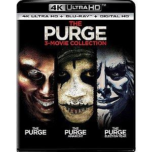 Blu-ray 4K - Uma Noite de Crime – 3-Movie Collection