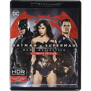 Batman vs Superman: A Origem da Justiça – (4K UHD) Ultimate Edition