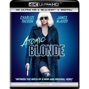 Blu-ray 4K - Atômica