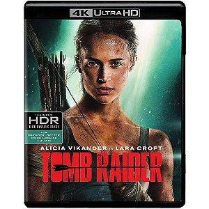 Blu-ray 4K – Tomb Raider: A Origem