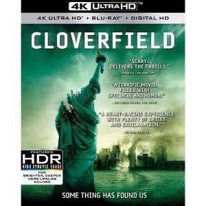 Blu-ray 4K – Cloverfield – Monstro