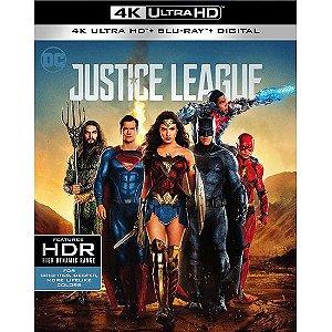 Blu-ray 4K – Liga da Justiça