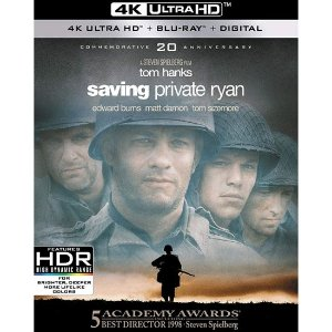 Blu-ray 4K – O Resgate do Soldado Ryan