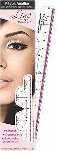 Régua para Alinhamento e Simetria da Sobrancelha - Line Designer