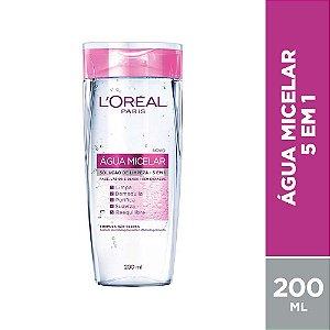 Água Micelar L'Oréal Paris 5 Em 1 - Demaquilante 200ml