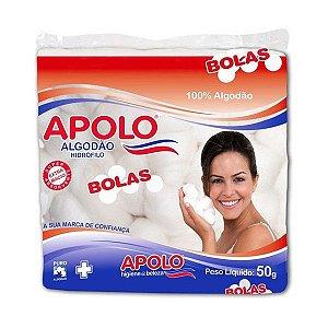 Algodão Apolo em Bolas 50g