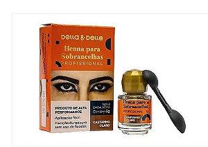 HENNA DELLA E DELLE CASTANHO CLARO - 3G