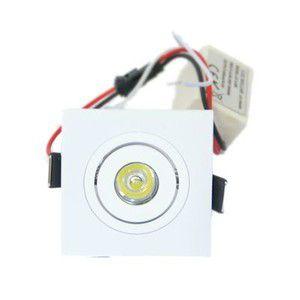 Mini Laser Spot Quadrado 3W Bivolt - Luz Sollar