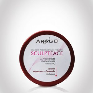 SculptFace Gel-creme de Massagem 3D - 100g