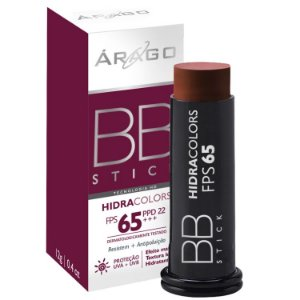 BB Stick HidraColors FPS 65 - Chocolate - 16g