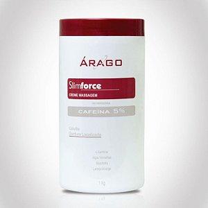 SlimForce Creme Massagem Cafeína 5% - 1kg