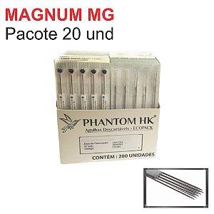Agulha Phantom HK Pintura Magnum MG - Pacote 20 Und.