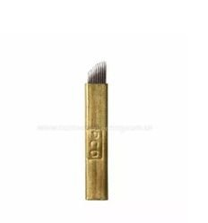 Agulha para Tebori - Microblading 12 agulhas - Hard - Unidade