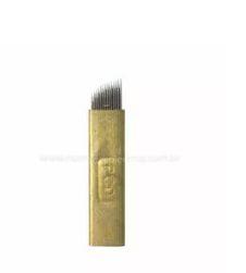 Agulha para Tebori - Microblading 14 agulhas - Hard - Unidade