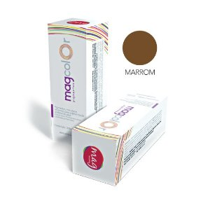 Pigmento Mag color 15ml - Marrom