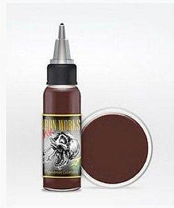 Tinta Iron Works Marrom Escuro 30ml