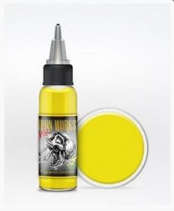 Tinta Iron Works Amarelo Esverdeado 30ml