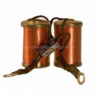 Bobinas com capacitor - 8 voltas (par)