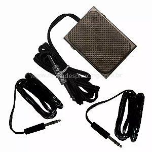 Pedal com 2 clip cords