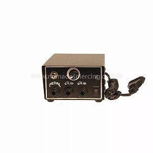Fonte analógica deslizante 2 amperes - plug guitarra