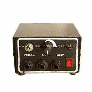 Fonte analógica para duas máquinas - 110-220 Volts