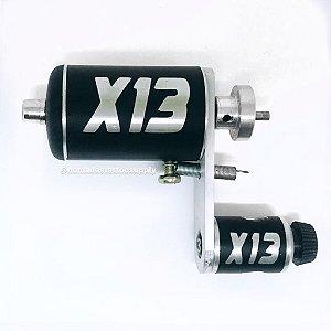Máquina Rotativa Nacional X13 + CABO ° PRATA