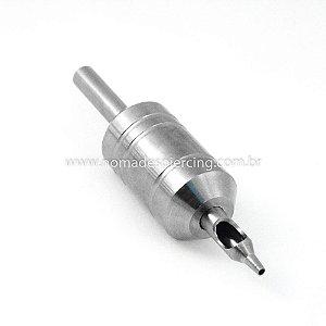 Biqueira de Aço Grip 25mm Traço/Bucha - 9 agulhas