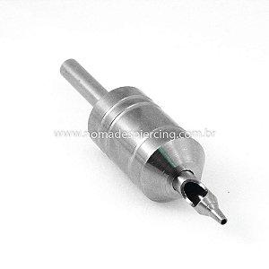 Biqueira de Aço Grip 25mm Traço/Bucha - 13 agulhas