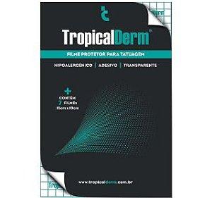 TropicalDerm Filme Protetor Para Tatuagem - Envelope com 7 Filmes