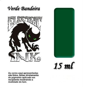 Electric Ink Verde Bandeira 15 ml