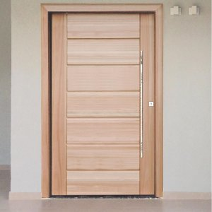 Porta Maciça em Eucalipto 100x210cm - Arliz