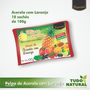 Polpa de Acerola com Laranja (10 un.)