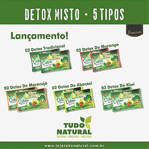 Detox Misto 5 tipos - 10 sachês de 100g