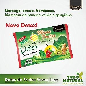 LANÇAMENTO! Detox De Frutas Vermelhas (10 unidades)