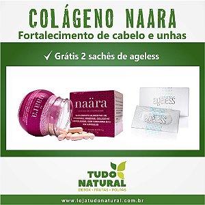 Colágeno Naara - Fortalecimento de Cabelos e Unhas