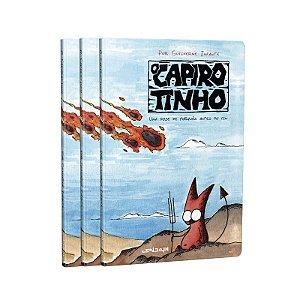 [COMBO CAPIROTINHO 2] Três exemplares + Ilustração exclusiva do autor + Caneca