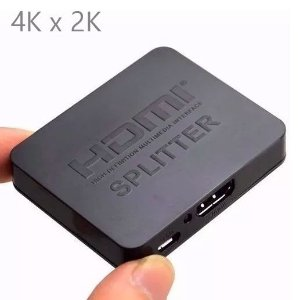 Splitter HDMI de 1 entrada x 2 saídas c/ resolução 4Kx2K