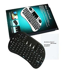 Mini Teclado e Controle Wireless - Mini Keyboard Touch Universal
